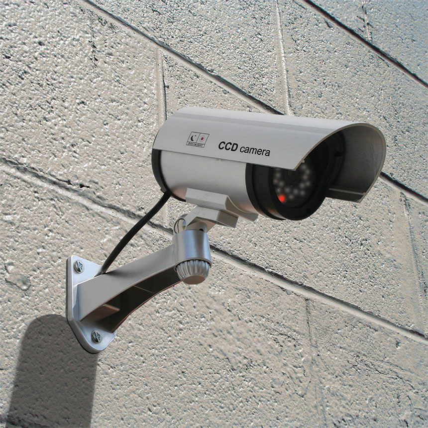 Simulated Infrared Security Camera