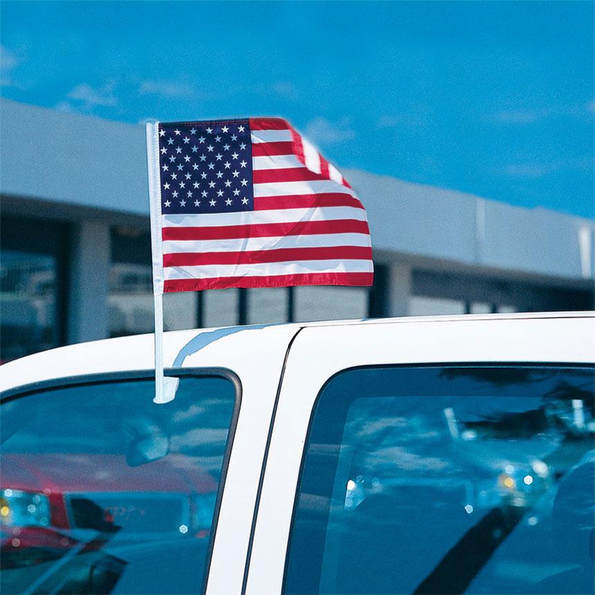 American Flag Economy Clip-On Flag Kit