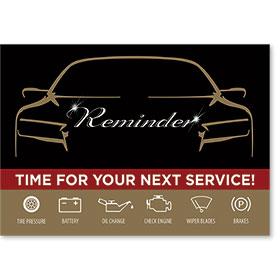 Auto Shop Postcard Service Reminders - Design 1