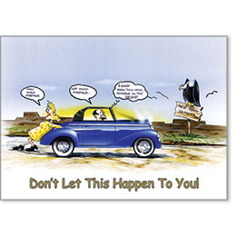 Automotive Postcard Response - Don't Let This Happen to You!