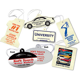 Economy Air Fresheners Full-Color - 2 Sided