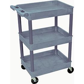 Plastic Utility Cart – 3 Shelves