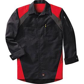 Redkap Tri-Color Work Shirt Long Sleeve