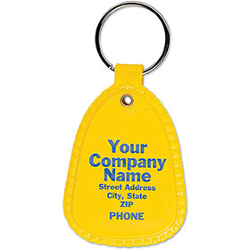 Saddle Tab Key Ring