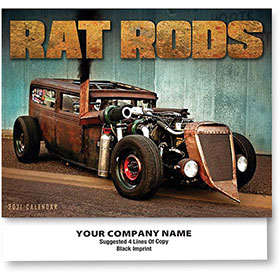 Full-Color Calendars - Rat Rods