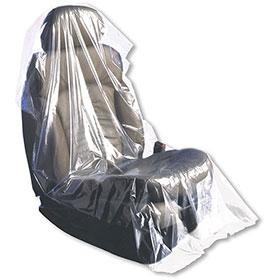 Slip-N-Grip® Plastic Seat Protectors (1 Roll = 250)