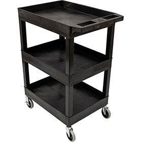 3 Shelf Detail Cart & 2 Bin Combo