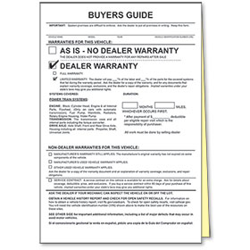 2-Part Power Train Warranty Buyers Guides