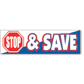 Stop & Save- Traffic Stopper Dealer Banners