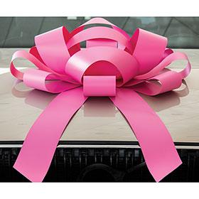 Pink Giant 30 inch Magnetic Bow