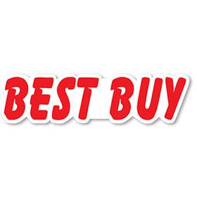 Best Buy - Peel and Stick Designer Cut Slogans