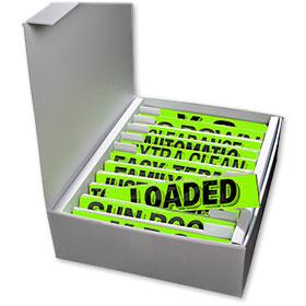 Slogan Storage Box