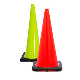 Solid Color Traffic Cones
