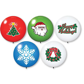 Holiday Premium Reusable Balloons