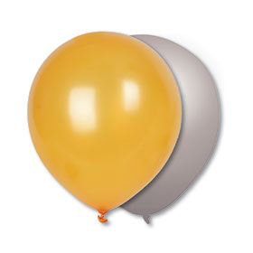 17-inch Metallic Balloons