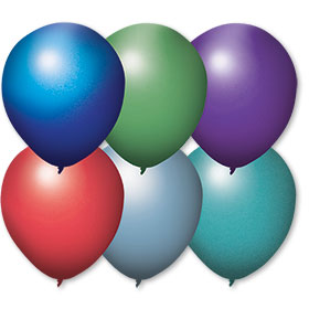 17 inch Shimmer Premium Outdoor Balloons