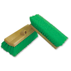 "10"" Chemical-Resistant Truck Exterior Cleaning Brush"