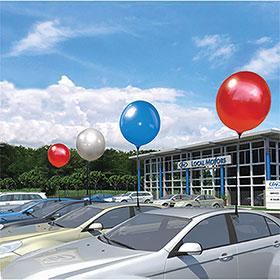 Premium Reusable Balloon Window Clip Kit
