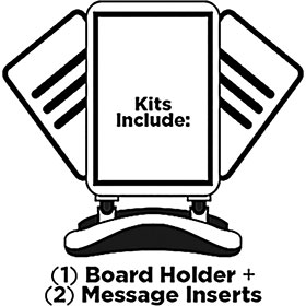 Outdoor Message Board Kit