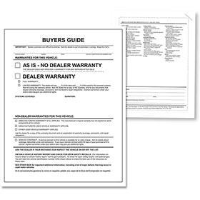 As Is Outside Buyers Guide