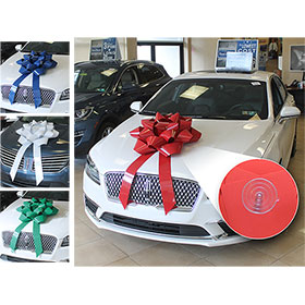 "28"" Big Gift Car Bow with Suction Cup"