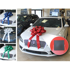 "28"" Big Gift Car Bow with Magnet"