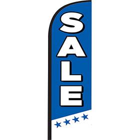 12ft Feather Flag Kit - Sale Blue
