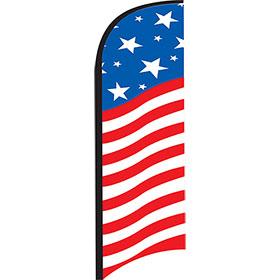 12ft Feather Flag Kit - USA