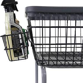 Extra Accessory/Bottle Holder Basket for Car Wash Cart