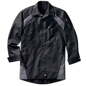 Redkap Work Shirt LS Diamond Plate