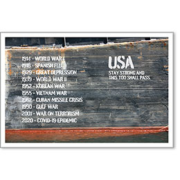 """USA Stay Strong Motivational Poster 13"""" x 19"""""""