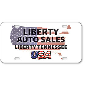 "Vehicle Message Plates (6"" x 12"") Template #1"
