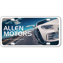 Vehicle Message Plates (6