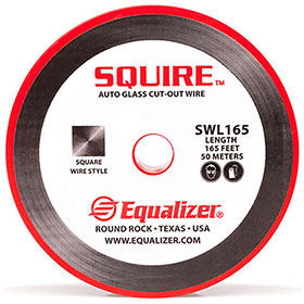 Equalizer® Squire™ 164' Auto Glass Cut-Out Wire (10-Pack) SWL165PKG