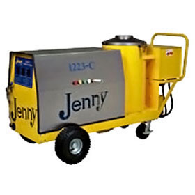 Steam Jenny Oil Fired 1200 PSI at 2.3GPM Pressure Washer/70GPH Steam Cleaner, 110V - 1 Phase 1223-C