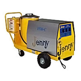 Jenny 1500 PSI Oil Fired Pressure Washer 220V 1Ph 1530-C-OEP