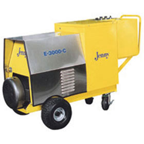 Steam Jenny Electric 3000 PSI at 4 GPM Pressure Washer / 90 GPH Steam Cleaner, 460V-3 Phase E-3000-C
