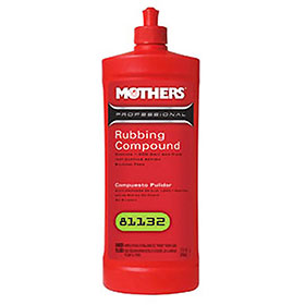 Mothers Pro Rubbing Compound - Quart