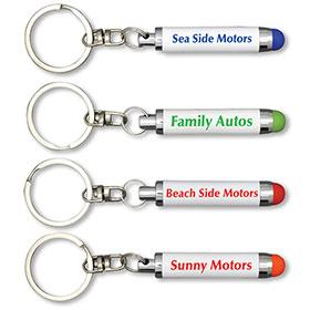 Custom Imprinted Stylus Key Chain