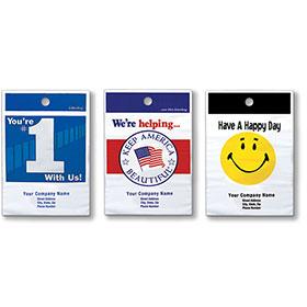 Custom Imprinted Litter Bags