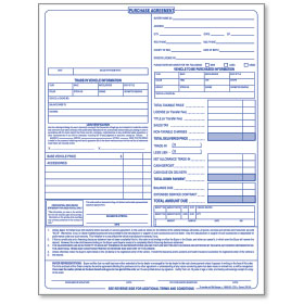 auto dealer forms vehicle deal jackets repair order forms