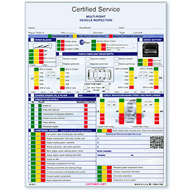GM Certified Vehicle Inspection Forms