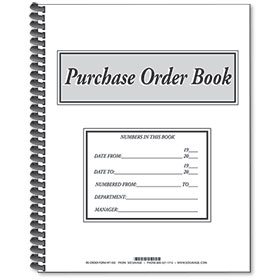 Purchase Order Books