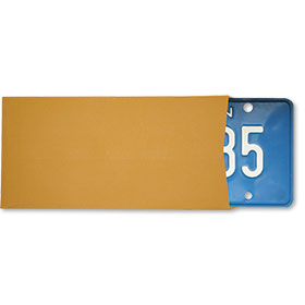 Blank License Plate Envelopes