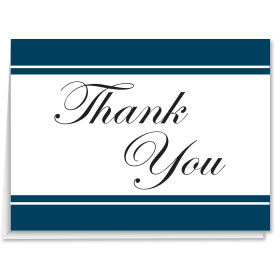 Blank Car Dealer Thank You Cards