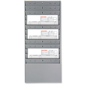 Gray Repair Order Rack