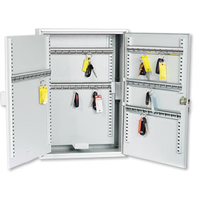 100 Hook Adjustable Key Cabinet