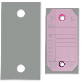 Plastic Key Tag Covers