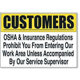 OSHA Sign