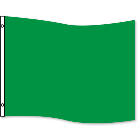 Green Rectangle Flag 3 x 5ft